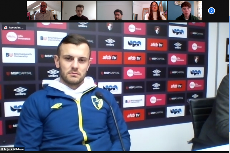 Jack Wilshere press conference