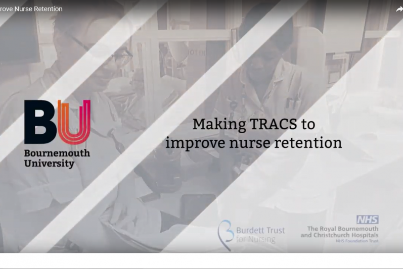Video snapshot of Making TRACS to Improve Nurse Retention