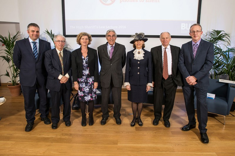 High Sheriff Law Lecture panel lineup web