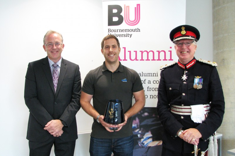 BU graduate presented with Queen's Award for Enterprise