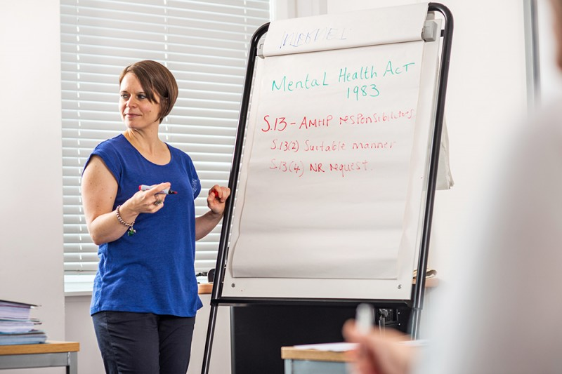 Social work training for a changing profession