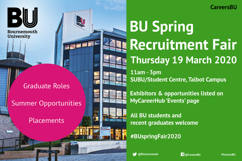 Top tips to help you prepare for the Spring Recruitment Fair