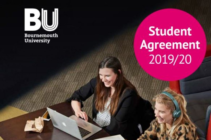 Cover image for the Student Agreement 2019/20