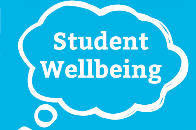 Student Wellbeing speech bubble