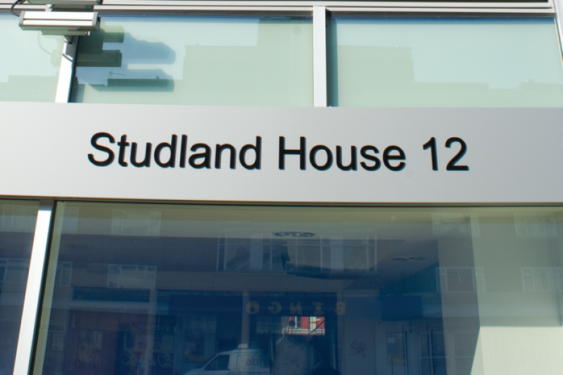 Studland House outside