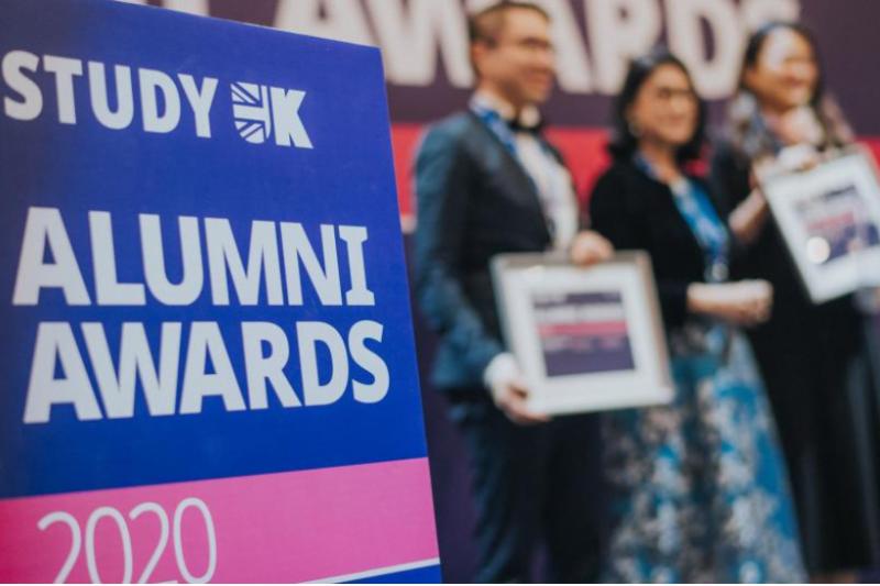Calling all BU international alumni – the StudyUK Alumni Awards are now open