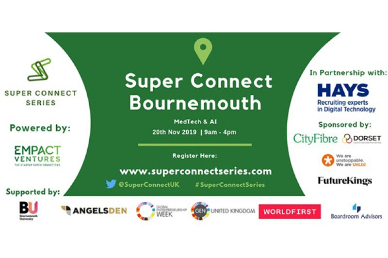 Super Connect event digital screen
