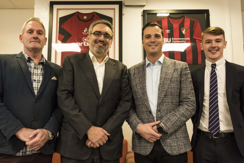 AFCB Commercial Director supports students' learning