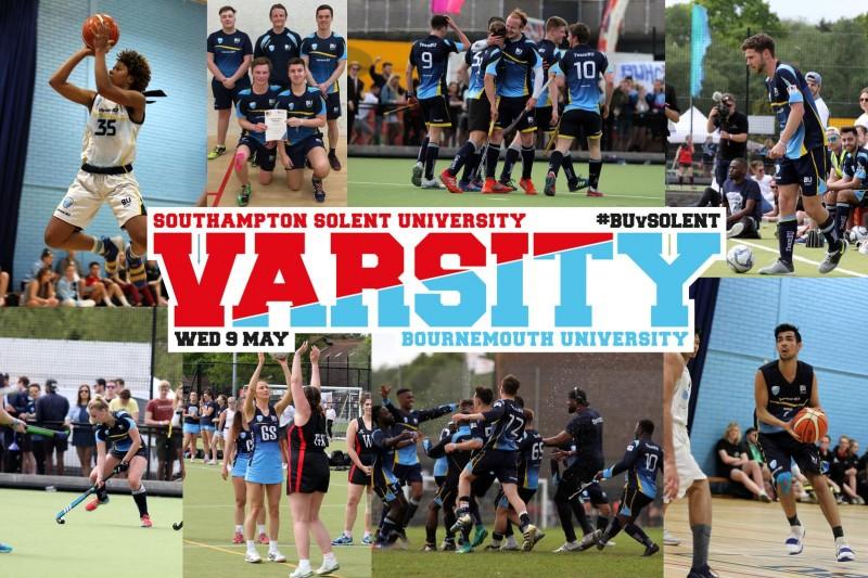 Collage of SportBU sports