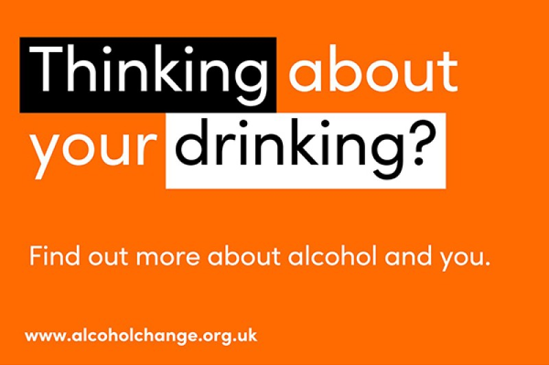Alcohol Awareness - thinking about your drinking