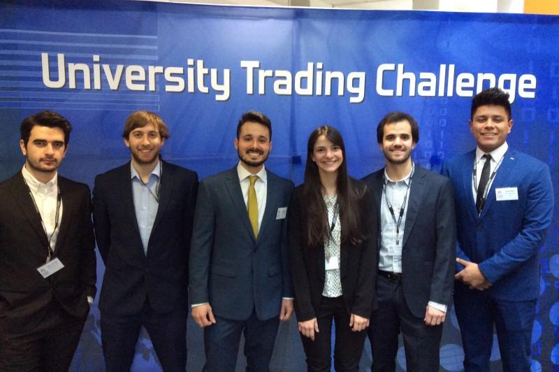 University Trading Challenge - team photo