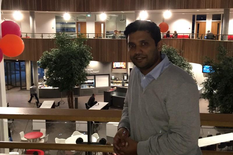 Viduyt Patra, BU alumnus