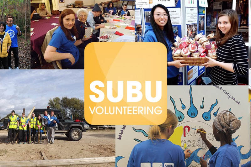 Subu volunteering promo