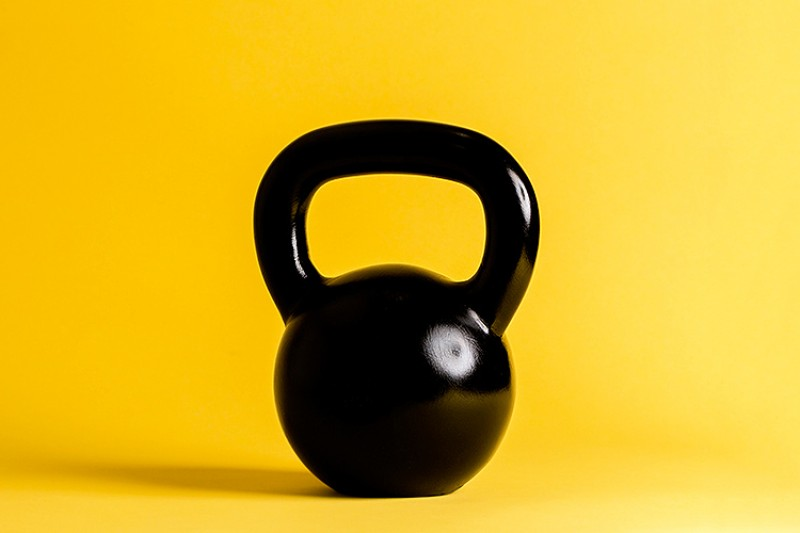 Image of a kettlebell
