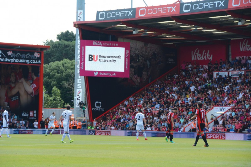 AFC Bournemouth stadium digital screen