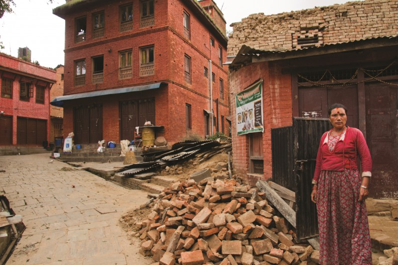 Aftershock Nepal