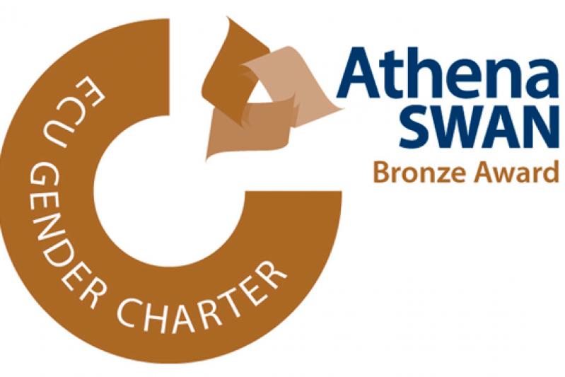 Athena Swan ECU race equality bronze logo