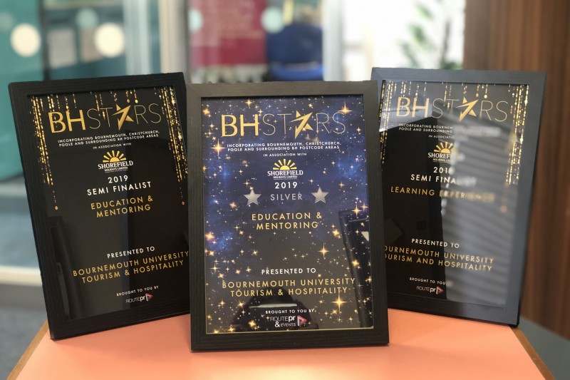 Department of Tourism & Hospitality awarded silver award for education and monitoring in the BH Star Awards 2019