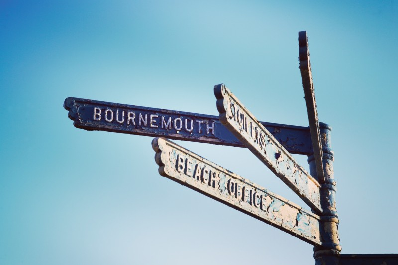 bournemouth sign