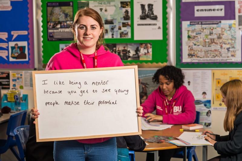 secondary school students teacher mentor