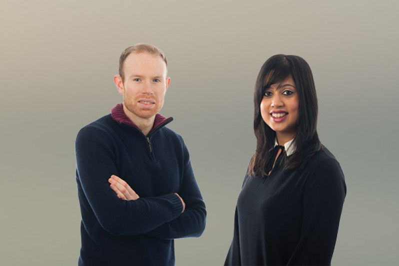 Tom Mephram and Monwara Foley