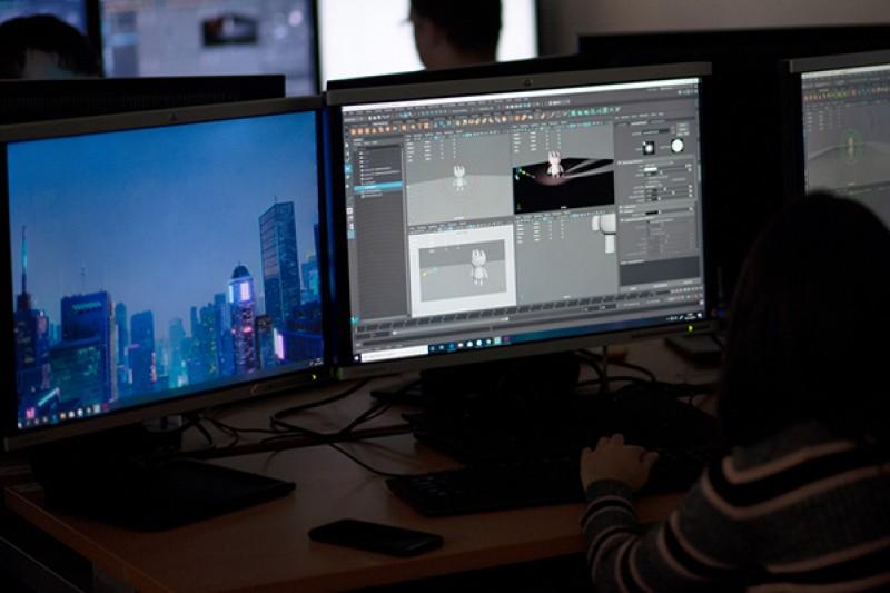 Computer animation lab