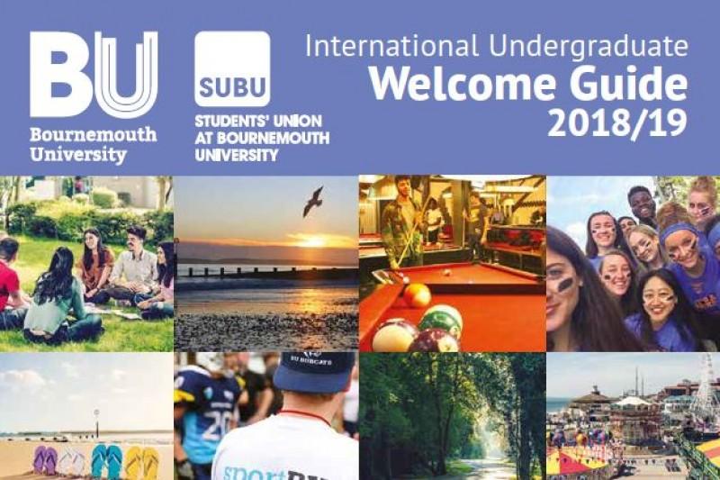 BU Welcome Guide 2018: International undergraduate students