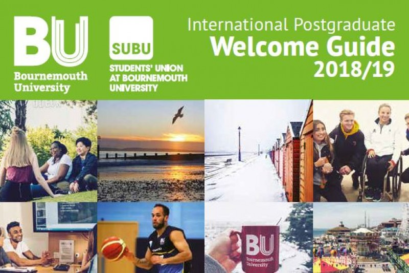 BU Welcome Guide 2018: International Postgraduate students (Jan starts)