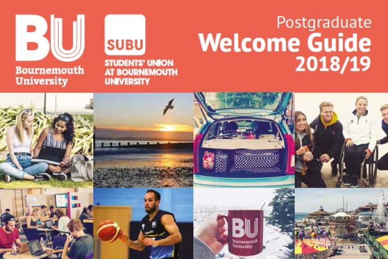 BU Welcome Guide 2018: Postgraduate students (Jan starts)