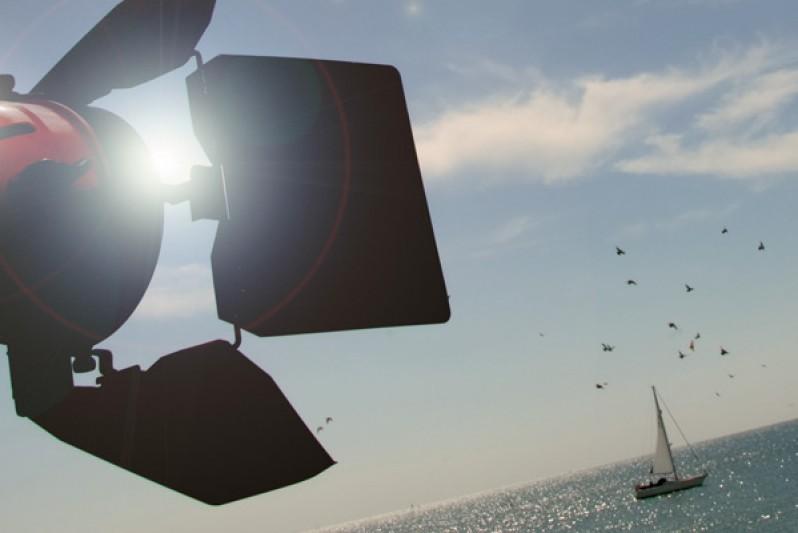 media creative pier light camera
