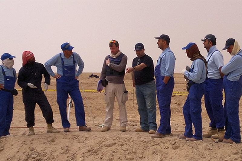 Developing training, standards and policies for forensic investigation of mass graves
