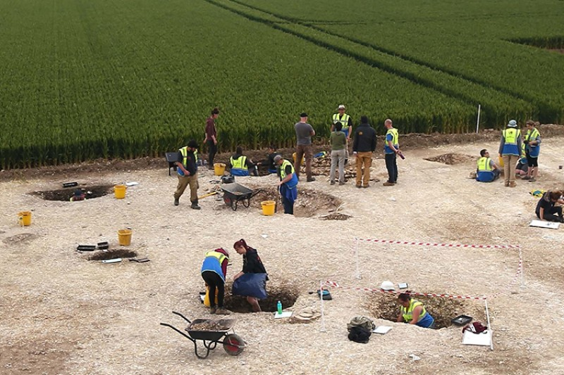 Fieldwork as part of the Big Dig