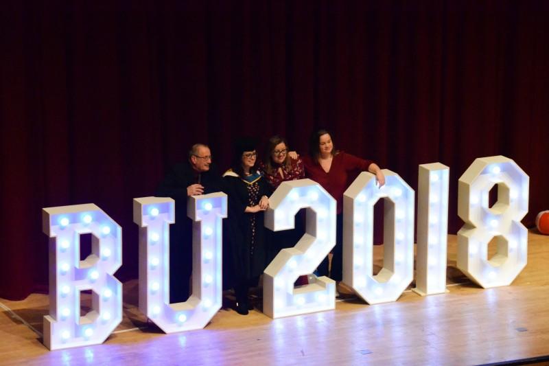 Faculty of Health & Social Sciences graduation 2018