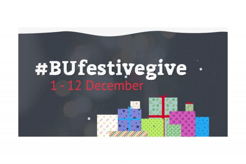 BU festive give image