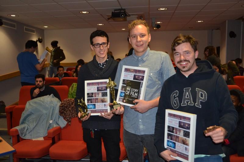 Winners of the 2015 BU Student Short Film Festival
