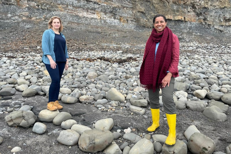 BU academic discusses fossil discoveries on BBC TV