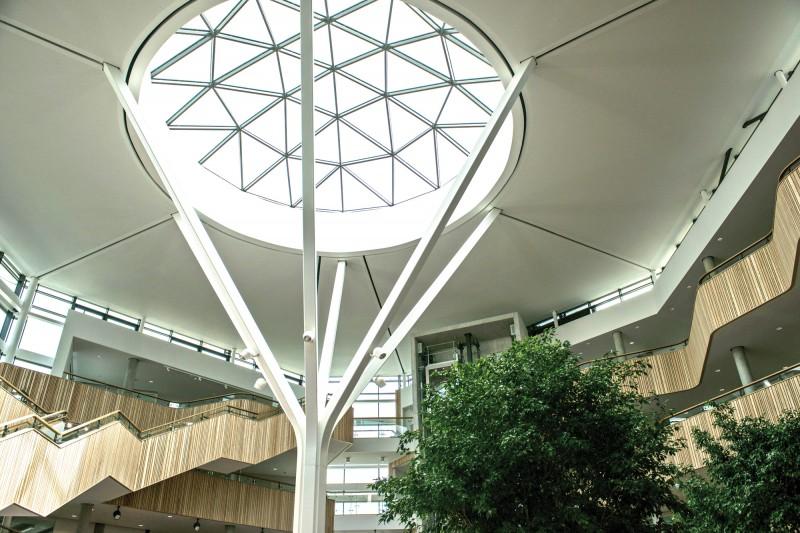 Fusion Building atrium dome