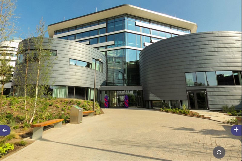 The Fusion Building as viewed on our Virtual Tour
