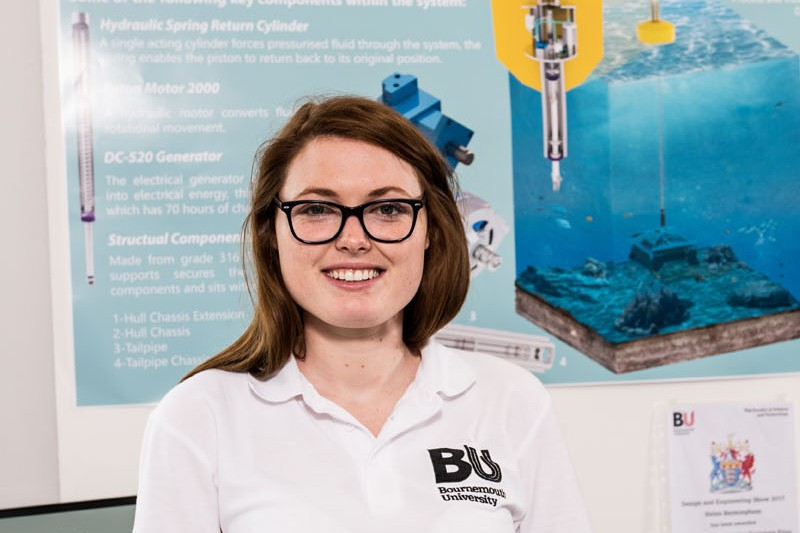 Helen Bermingham - Design Engineer for Dyson