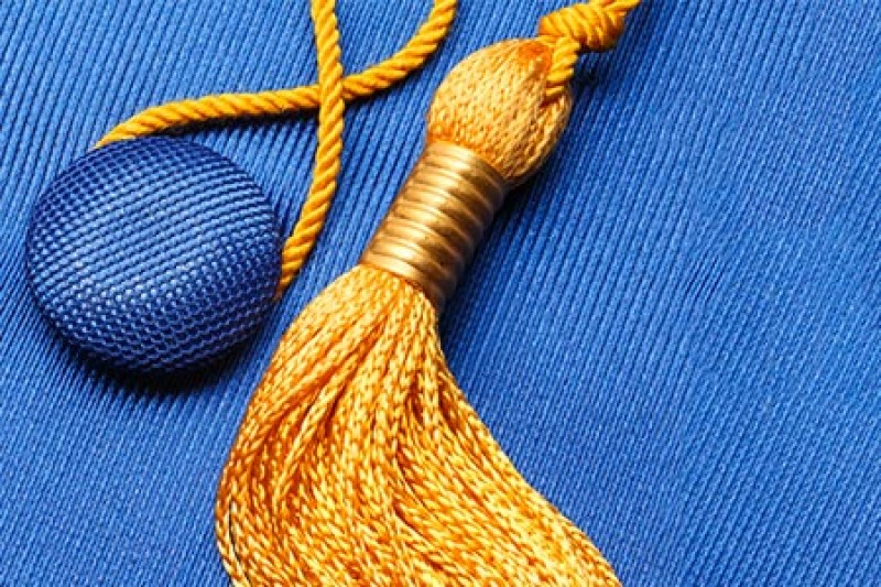 Tassle from a mortarboard