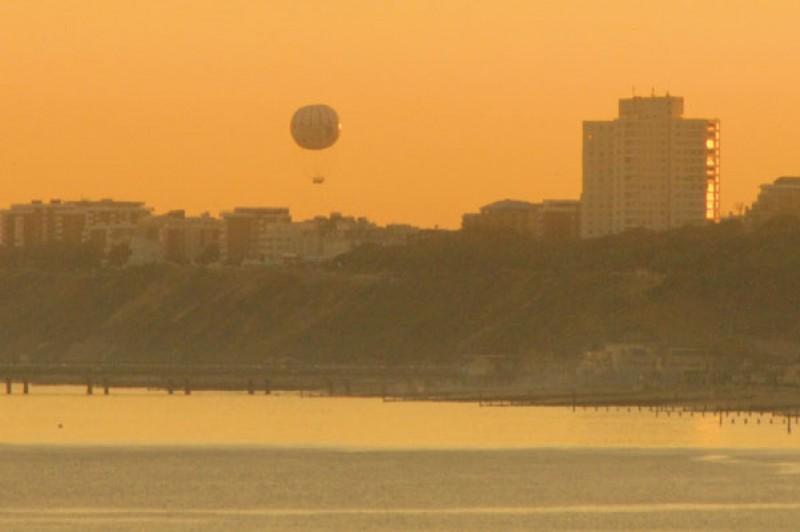 Bournemouth Beach at sunrise