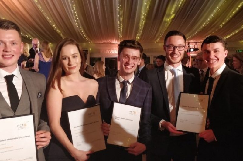 Second award-winning night for BU Journalism students