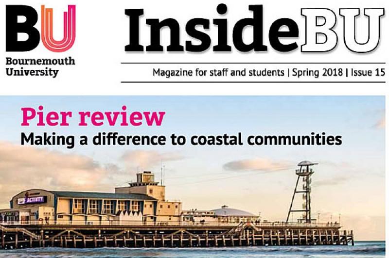 Image of InsideBU, BUs internal magazine - Spring 2018