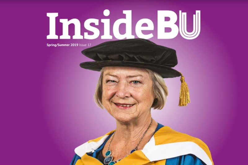 Image of InsideBU, BUs internal magazine