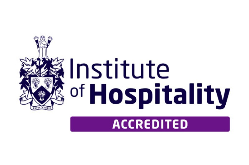 Institute of Hospitality Accredited logo