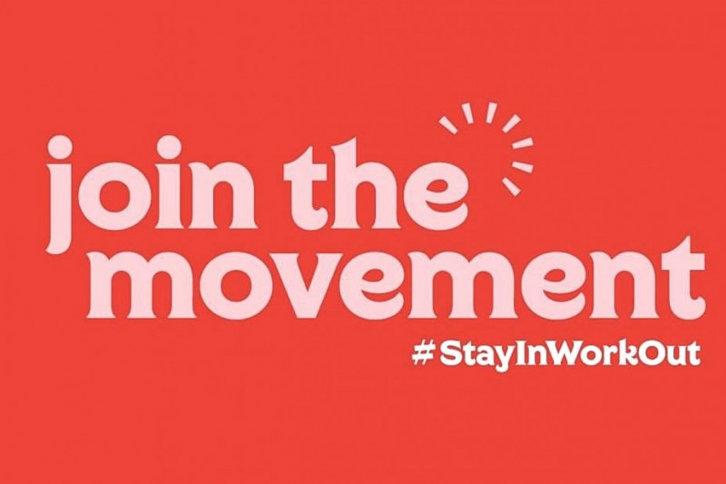 Join the movement stay in work out