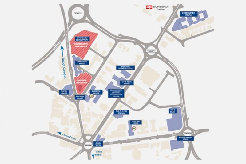 Lansdowne Campus map