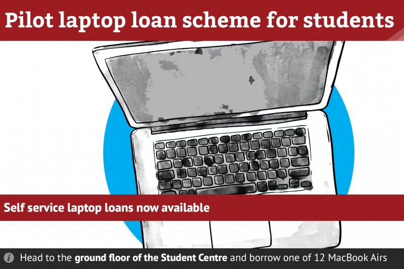 New Pilot Laptop Loan Scheme for Students