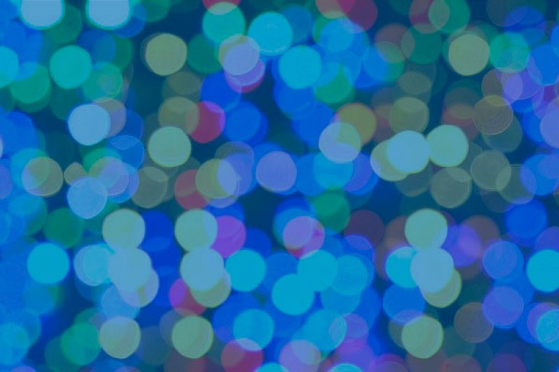 Abstract background comprising a number of lights