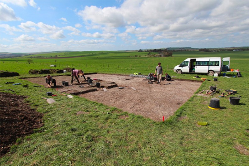 Field work on the Living with Monuments project